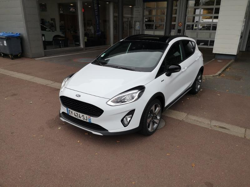 Véhicule occasion - FORD - Nouvelle Ford Fiesta 1.0 EcoBoost 100ch S&S  BVM6 ACTIVE PLU